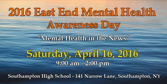 2016 East End Mental Health Awareness Day