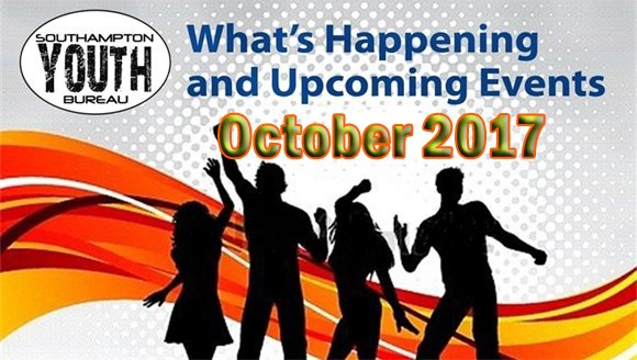 Youth Bureau - October 2017 What's Happening