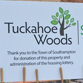 Tuckahoe Woods Sign