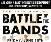 The 14th Annual Battle of the Bands