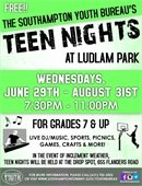 TEEN Night @ Ludlam Park