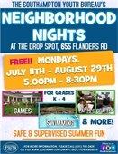Neighborhood Nights @ the Drop Spot