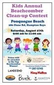 Kids Beachcomber Clean-Up Contest