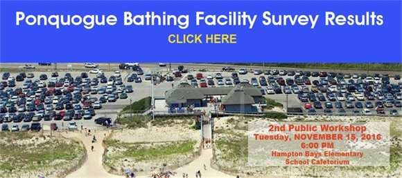 Ponquogue Beach Bathing Facility Survey Results