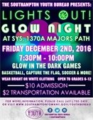 GLOW NIGHT AT SYS RECREATION CENTER