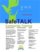 Safe Talk Community Training: Suicide Prevention.