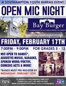 Open Mic Night at Bay Burger in Sag Harbor