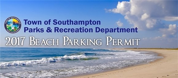 2017 Beach Parking Permit