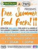 Free Summer Food Rocks!