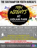 Teen Nights at Ludlam Park