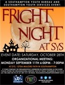 Fright Night at SYS Organizational Meeting