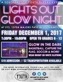 Lights out Glow Night