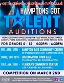 Hamptons Got Talent Auditions