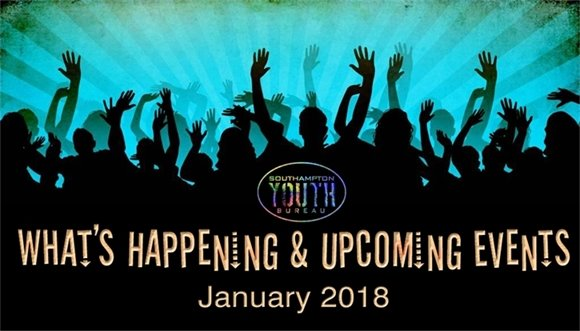 Youth Bureau - January 2018 What's Happening