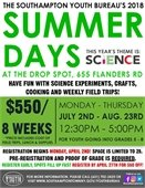 Summer Days Registration Now Open!