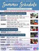 Summer Schedule 5-8