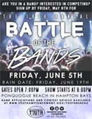 Band Applications Available for the 18th Annual Battle of the Bands Competition