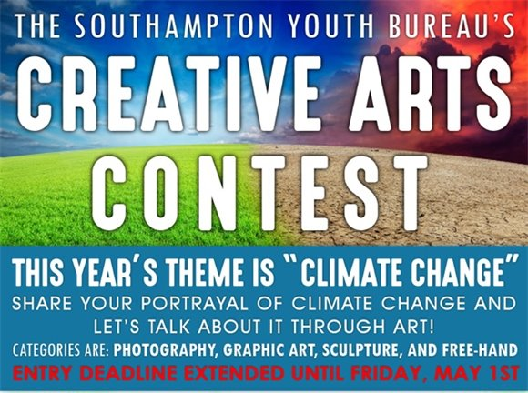 Creative Arts Contest - Extended until Friday, May 1, 2020