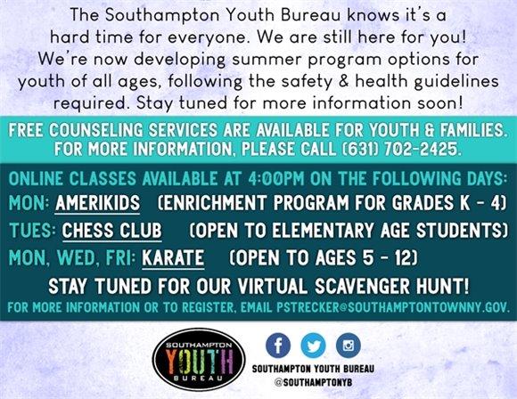 Youth Bureau - Free Counseling