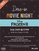 Drive-In Movie Night Flyer