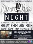 Open Mic Night at Hampton Coffee Company
