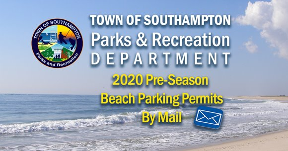 2020 Beach Parking Permit