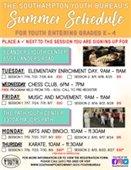 Summer Schedule Grades K-4
