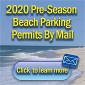 2020 Beach Parking Permit mail in applications are currently available
