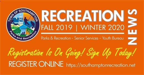 RECREATION NEWS  - Fall 2019 | Winter2020
