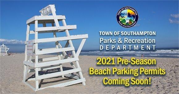 2021 Beach Parking Permit