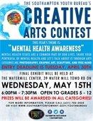 Creative Arts Contest: Mental Health Awareness