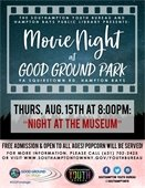 Movie Nights at Good Ground Park -