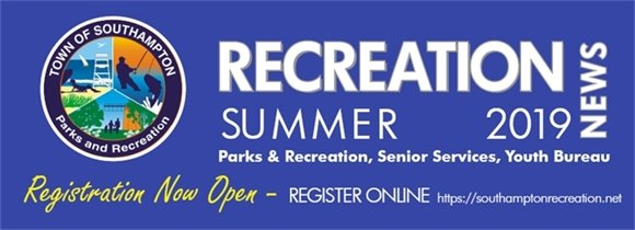 RECREATION NEWS  - SUMMER 2019