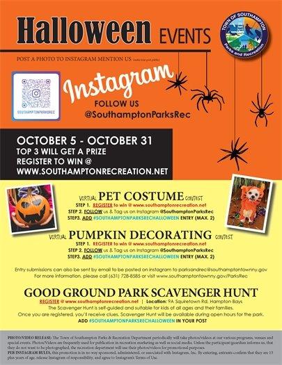 Halloween Events Parks & Rec