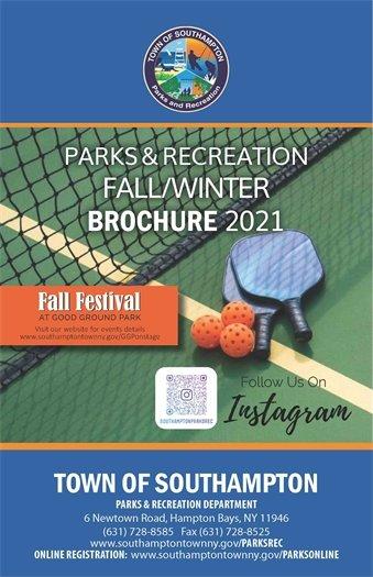 PARKS & RECREATION FALL/WINTER BROCHURE 2021