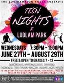 Teen Nights at Ludlam Park