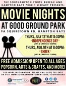Movie Nights at Good Ground Park