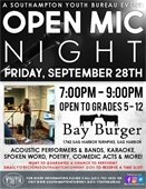 Open Mic Night at Bay Burger