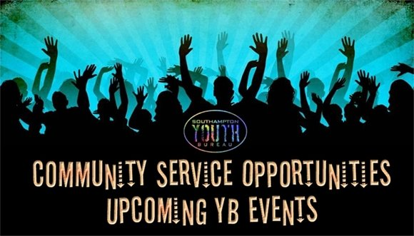Youth Bureau - Community Service Opportunities/Upcoming YB Events