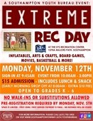 Extreme Rec Day Registration is Now Open!
