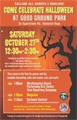 Come Celebrate Halloween @ GOOD GROUND PARK