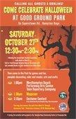 Come Celebrate Halloween @ GOOD GROUND PARK