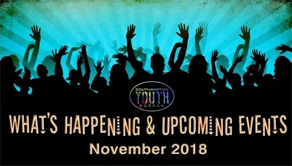 Youth Bureau - October 2018 What's Happening :)