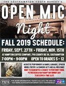 Open Mic Night Schedule at Hampton Coffee Company -