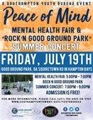 Peace of Mind Mental Health Fair / Rock'n Good Ground Park