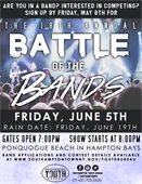 18th Annual Battle of the Bands Band Applications