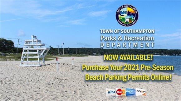2019 Beach Parking Permit