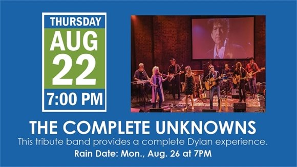 THE COMPLETE UNKNOWNS, 7PM