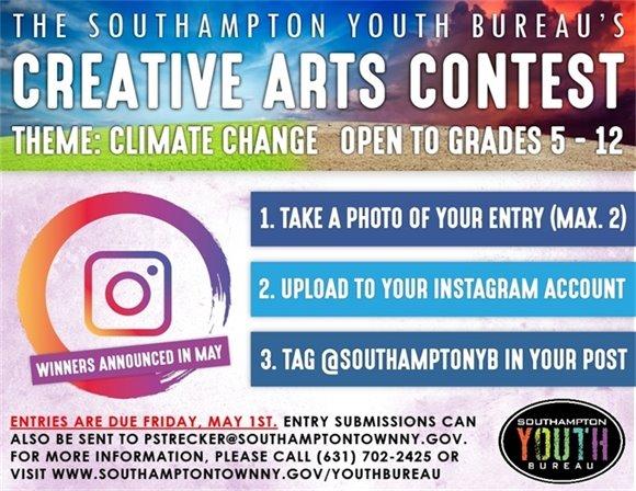 Youth Bureau - Creative Arts Contest