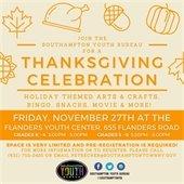 FRI – TGIF It's Fri-YAY!  Thanksgiving Celebration